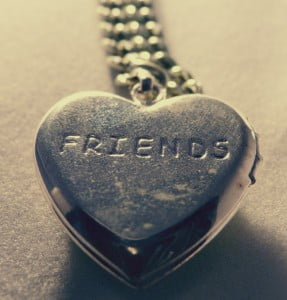 "locket with ""friends"""